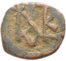 Pentanummium - Justin II (Nicomédie) – avers