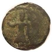 AE Half follis (Constantine IV) – avers