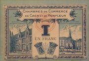 1 franc - Chambres de Commerce de Caen et de Honfleur [14] (2e-4e émission) – avers