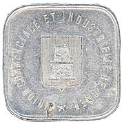 25 Centimes Union commerciale - Caen [14] – avers