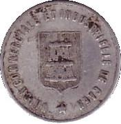 10 centimes - Union Commerciale et Industrielle - Caen [14] – avers