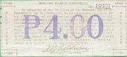 4 Pesos (Cagayan) – revers