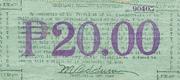 20 Pesos (Cagayan) – revers