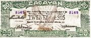 20 Pesos (Cagayan) – avers