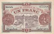 1 franc - Chambre de Commerce de Cahors [46] – avers