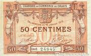50 centimes - Chambre de Commerce de Calais [62] – avers