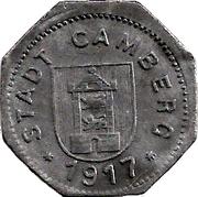 5 pfennig - Camberg -  avers
