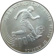 20 Riels (Coupe du monde de football - USA 1994) – revers