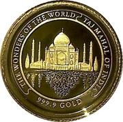 3000 riels (Taj Mahal) – revers