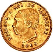 4 Francs - Nordom I (Pattern) – avers
