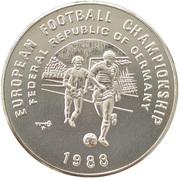 20 riels (Championnat d'Europe de football 1988) – revers