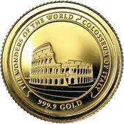 3000 Riels - Colisée de Rome – revers