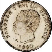 10 centimes - Norodom I (Essai) -  avers