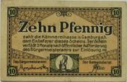 10 Pfennig (Camburg) -  avers