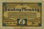 50 Pfennig (Camburg) – avers