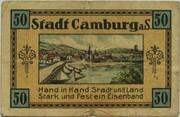 50 Pfennig (Camburg) – revers