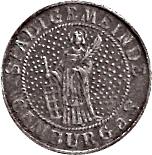 10 pfennig - Camburg a. S. – avers