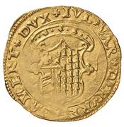 Scudo d'oro - Giulia and Guidobaldo of Rovere – avers