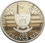 100 Francs (125ème anniversaire de l'invention de l'automobile par Carl Benz) – avers