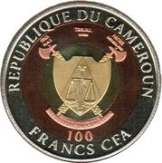100 Francs CFA (Mère Teresa) – avers