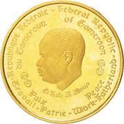 1000 Francs (10ème anniversaire de l'indépendance) – avers