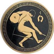 2500 Francs / Discobolus – revers