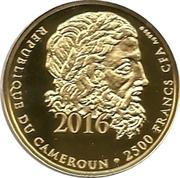 2500 Francs / Hoplitodromos – avers