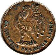"""1 Franc - """"LIBRE"""" – avers"""