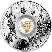 500 Francs (Seven bulls) – revers