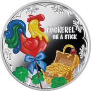 500 Francs (Cockerel on a stick) – revers