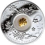 500 Francs (Seven ladybugs) – avers