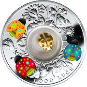 500 Francs (Seven ladybugs) – revers