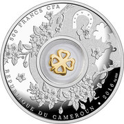 500 Francs (Seven four-leaf clovers) – avers