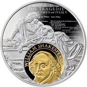 500 Francs (Cervantes and Shakespeare) – avers