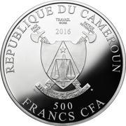 500 Francs CFA (Toutes les couleurs de la vie) – avers