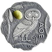 500 Francs (Owl of Athens) – revers