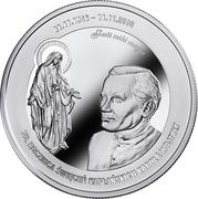 100 000 francs CFA (Karol Wojtyła) – revers