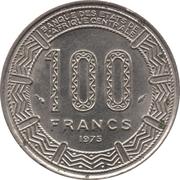 100 Francs -  revers