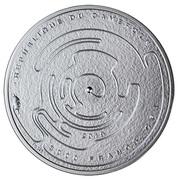 3000 francs CFA Labyrinthe – avers