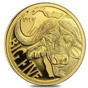 100 Francs - Buffalo – revers