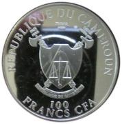 100 Francs (Pope John Paul II beatification) – avers