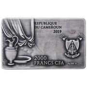 2000 francs CFA La Cène – avers