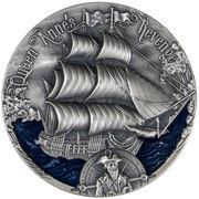 2000 Francs CFA (The Queen Anne's Revenge)) – revers