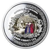 1000 Francs CFA (Stanisław Moniuszko)) – avers