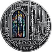 1000 Francs CFA (Basilica of the Franciscans in Kraków) – avers