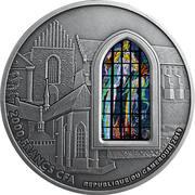 1000 Francs CFA (Basilica of the Franciscans in Kraków) – revers