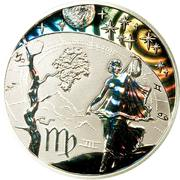 500 Francs CFA (Vierge) – revers