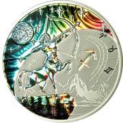 500 Francs CFA (Sagittaire) – revers