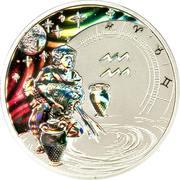 500 Francs CFA (Verseau) – revers