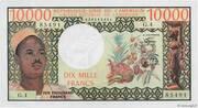 10,000 Francs – avers